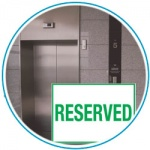 Reserved elevator