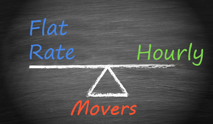 Flat Rate vs. Hourly Movers