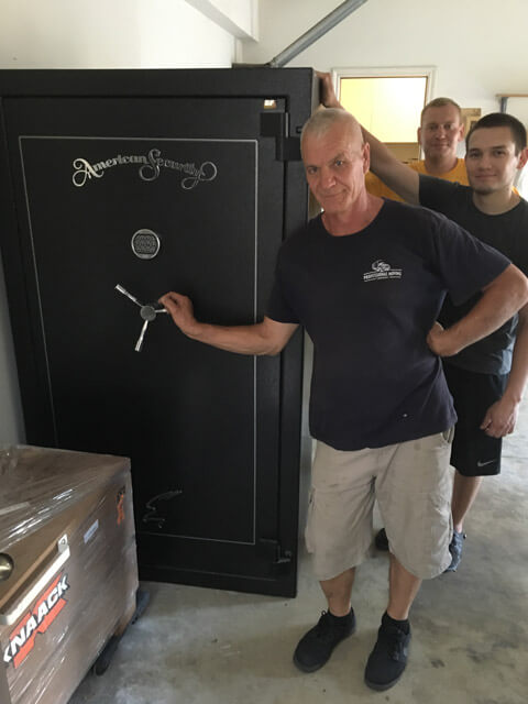 Moving Gun Safe