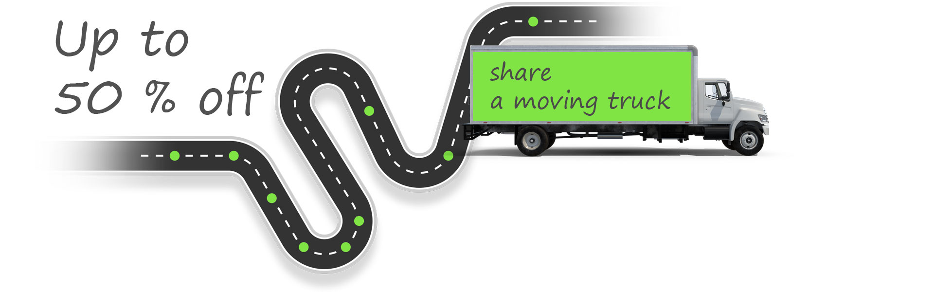 Share a moving truck